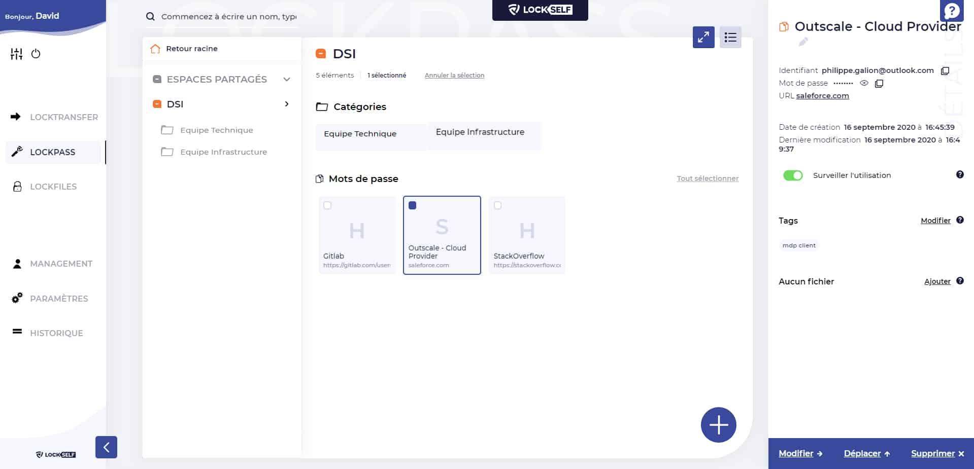 LockPass, le gestionnaire de mots de passe pour les entreprises